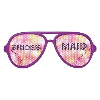 Colorful Bridesmaid Party Eye Glasses