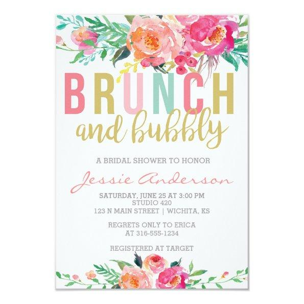 Colorful Brunch & Bubbly