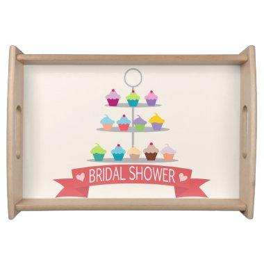 Colorful Cupcake Tree  Serving Tray