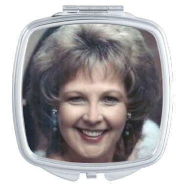 Compact Mirror, Photo Custom Compact Mirror