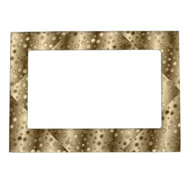 Cool Golden Design Magnetic Frame