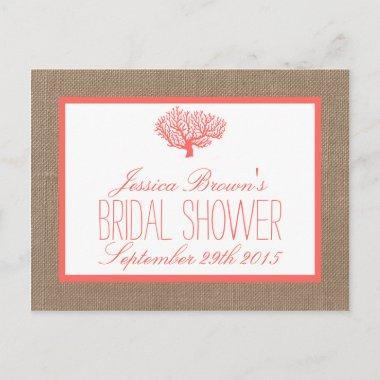 3a5e0cea62d99 Tropical Bridal Shower Invitations – Unique Bridal Shower
