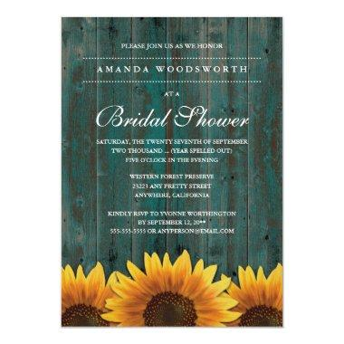 Country Rustic Sunflower
