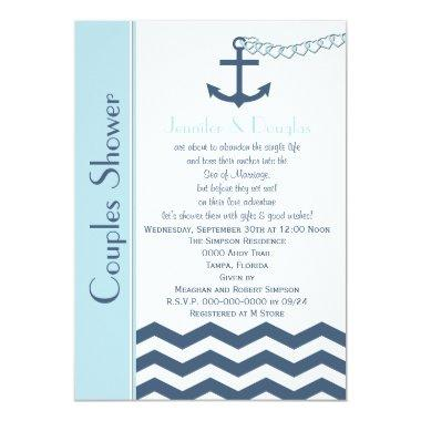Couples Coed Wedding Shower  - Nautical