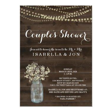 Couples Shower Invitations - Bridal, Wedding, Baby