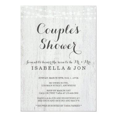 Couple's Shower  - Bridal, Wedding, Baby