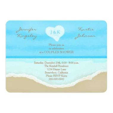 Couples Wedding Shower  Beach