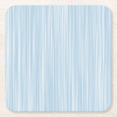 Create Own Personalized Gift |Baby Blue Watercolor Square Paper Coaster
