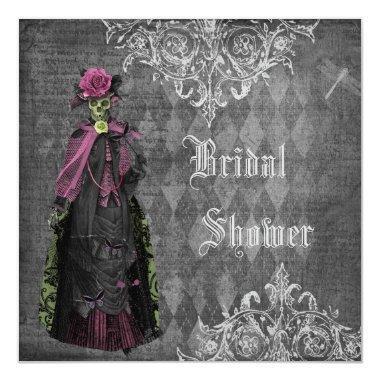 Creepy Halloween Bride Shabby Chic