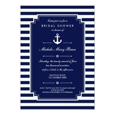 Crisp Blue White Nautical