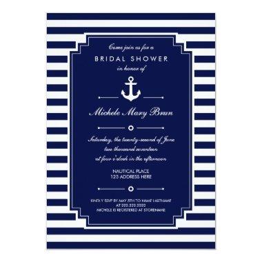 Crisp Blue White Nautical