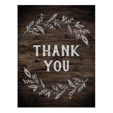 Curved Branches | Wooden Thank You PostInvitations