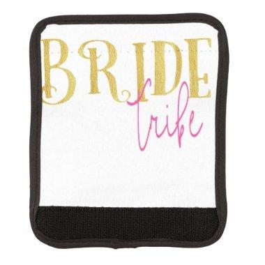 Curved Bride Tribe Pink and Gold Handle Wrap