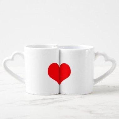 Custom Couple Coffee Mug Set