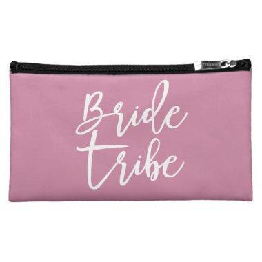 Customizable Bride Tribe makeup bag