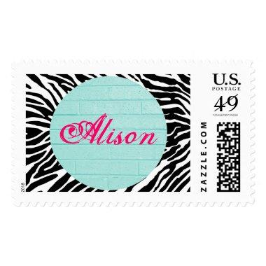 Customizable Pretty Little Postage Stamps