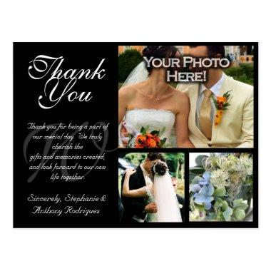 Customizable Wedding Thank You  3 Pictures