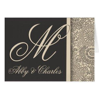 Customize your own monogram wedding