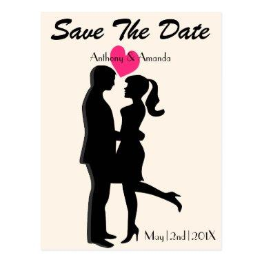 Cute Engagement & Save the Date PostInvitations