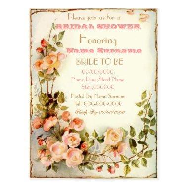 cute floral  invitation post