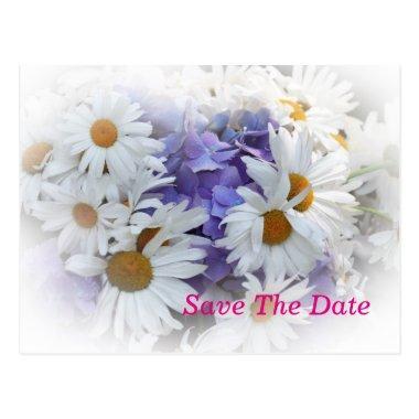 Daisies Summer Wedding Engagement Post