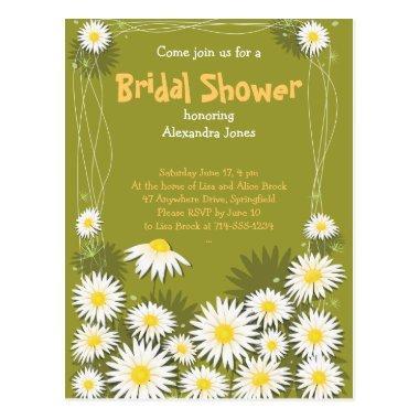 Daisy Garden  Party Invitation Post