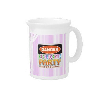 danger bachelorette party  crazy wild beverage pitcher