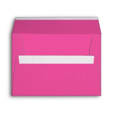 Dark Pink A7 Envelope