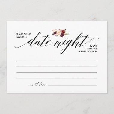 Date Night  template, date night ideas v3