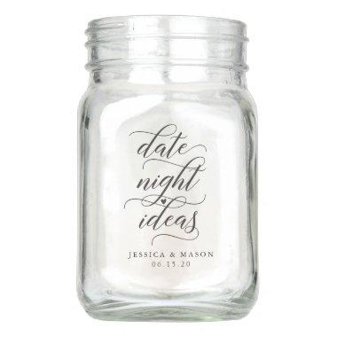 Date Night Jar - Bridal Shower - Wedding Gift