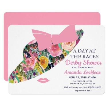 Day at the Races Bridal Shower Invitations