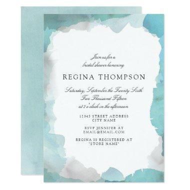 Turquoise Bridal Shower Invitations Unique Bridal Shower
