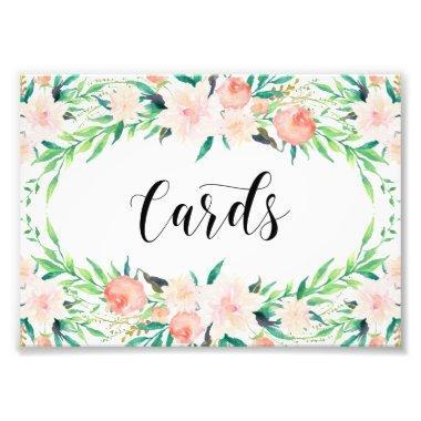 Delicate Bouquet Invitations Print