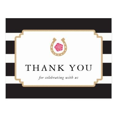 Derby Thank You PostInvitations Notes Bridal Shower