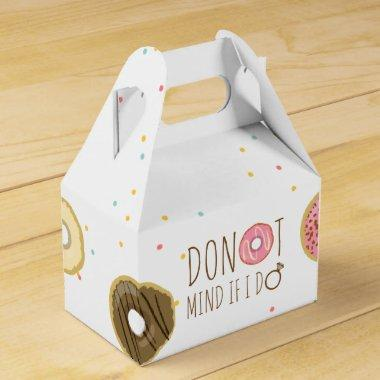 Donut Mind If I Do Favor Box Bridal Shower Bag
