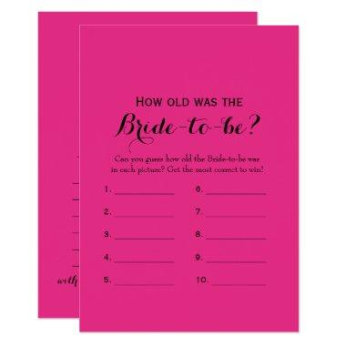 Double Side Hot Pink  Games
