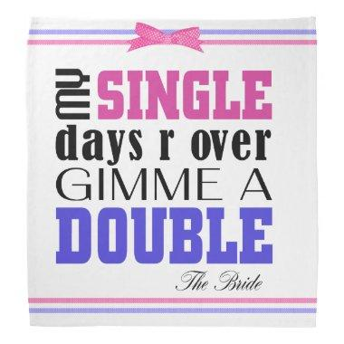 Double Time Bride Bandana