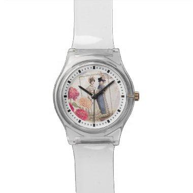 Duo for Piano - Beautiful Ladies Vintage Fashions Wrist Watch