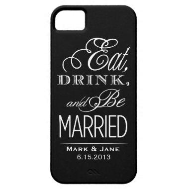 Eat Drink and Be Married iPhone SE/5/5s Case