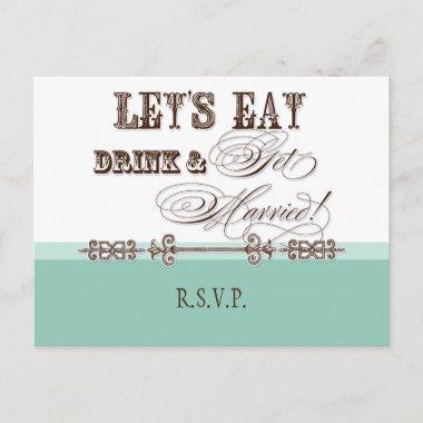 Eat, Drink n Get Married, RSVP Response Post