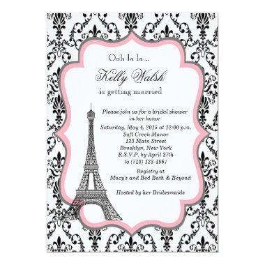 Eiffel Tower Pink Paris