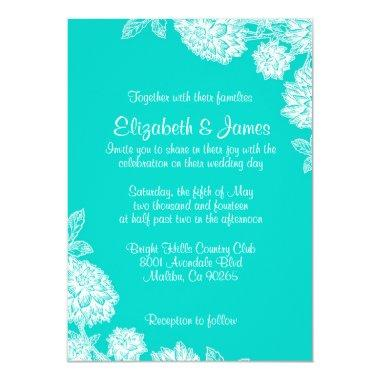Elegant Aqua Wedding
