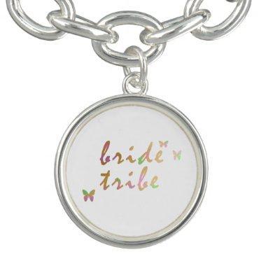 elegant gold and rose gold Bride Tribe Bracelet