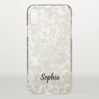 Elegant Lace iPhone X Case