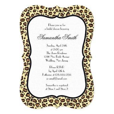 Elegant Leopard Animal Print