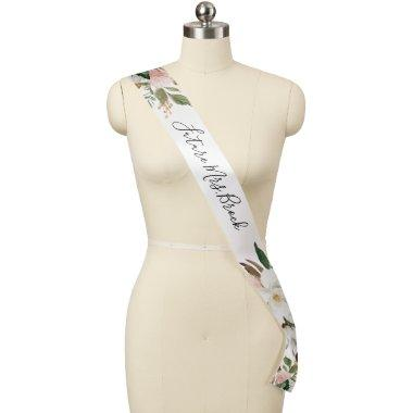 Elegant Magnolia Bridal Shower Future Mrs Sash