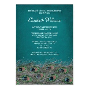 Elegant Peacock Feathers