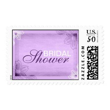 Elegant Purple  Stamps
