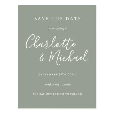 Elegant Signature Wedding Save the Date Invitations