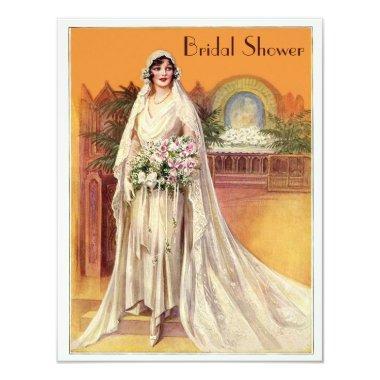 Elegant Vintage 1930s Bride